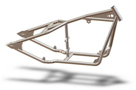 rigid sportster frame