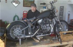 home sportster bobber project