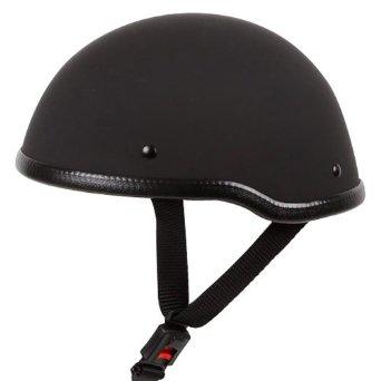 dot half helmet