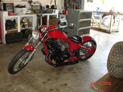 Jail Chaplains Honda 750 Bobber