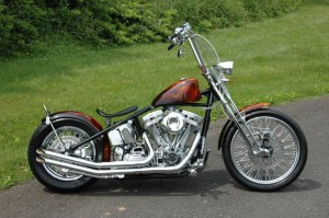 bobber chopper motorcycle
