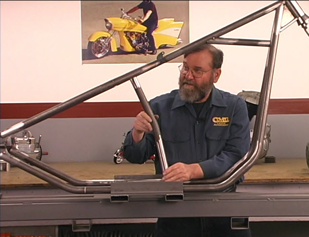 chopper frame build