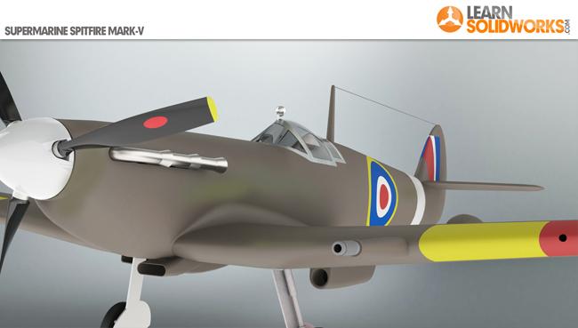 Spitfire Airplane
